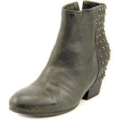 Gentle Souls Block Fierce   Round Toe Leather  Ankle Boot  | eBay