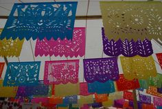 Mexican Folk Art Unit--Paper Flags
