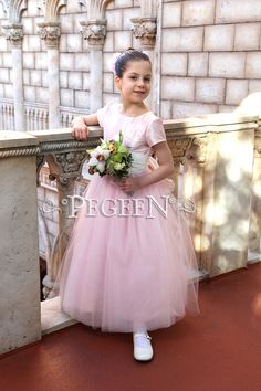 Peony Pink Flower Girl Dress of the Month - June 2019