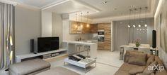Проект гостинной частных аппартаментов: интерьер, квартира, дом, гостиная, современный, модернизм, 20 - 30 м2 #interiordesign #apartment #house #livingroom #lounge #drawingroom #parlor #salon #keepingroom #sittingroom #receptionroom #parlour #modern #20_30m2 arXip.com
