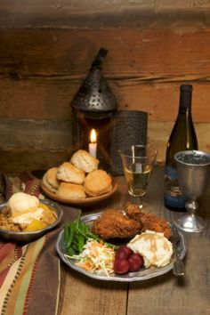 Savor a hearty Midday Fare in a rustic tavern setting Michie Tavern's dining room, the Ordinary, features Hearty Midday Fare offered by servers in period attire and is open daily 11:30-3:00. …