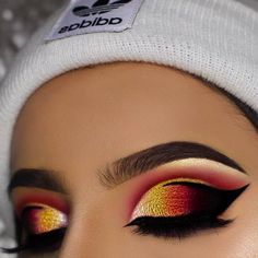 Fire Eyeshadow Tones with Makeup Geek