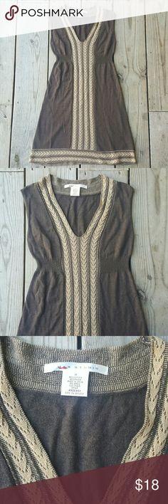 Max Studio sweater dress Knit, sleeveless, size med, excellent condition Max Studio Dresses Midi