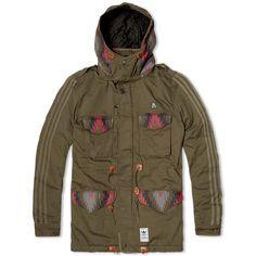 Socially Conveyed via WeLikedThis.co.uk - The UK's Finest Products -   Adidas x Neighborhood M-65 Jacket http://welikedthis.co.uk/adidas-x-neighborhood-m-65-jacket