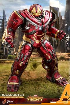 Hot Toys Avengers: Infinity War 1:6 Power Pose Hulkbuster Figure Official Images & Info #Marvel