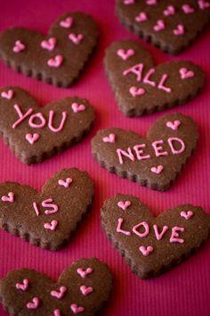Cupcakes are my new love: Más vale tarde que nunca - Galletas de San Valentín