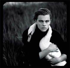 Annie Leibovitz, Leonardo DiCaprio, Tejon Ranch, Lebec, California, 1997