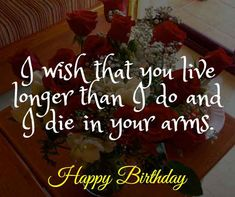 Romantic Birthday Wishes for Wife: Wife is a gift that is precious and must be given respect. Here we go with Romantic Birthday Wishes for Wife. Birthday Wishes For Wife, Romantic Birthday Wishes, Make Birthday Cake, Wife Birthday, Happy Birthday Me, You Are My Drug, Just You And Me, Perfect Wife, Good Wife