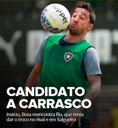 BotafogoDePrimeira: Invicto, Bota reencontra Flu, que tenta dar o troc...