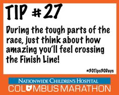 Tip #27: Everything you need to know about pre-race and post-racefun #30Tips30Days