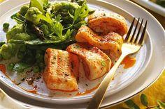 recetas navidenas lenguado con verduritas Xmas Food, Seafood, Turkey, Chicken, Meat, Christmas, Recipes, Mira Mira, Ariel
