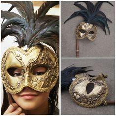 Kleski mask  ornate gold masquerade mask  mardi by SumertaDesigns
