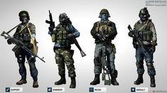 Soldados do Battlefield 3