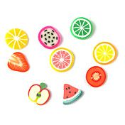 3D Fimo Slice Cartoon Fresh Face Fruit Decora... – USD $ 1.99