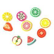 3D Fimo Slice Cartoon Fresh Face Fruit Decora... – USD $ 1.99