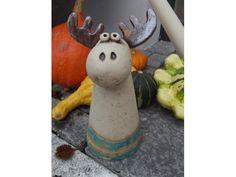 Elch Zaunhocker von Tongestalten auf DaWanda.com