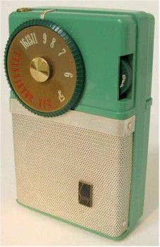 First pocket-sized transistor radio