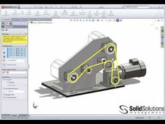 Belts and Chains in SolidWorks - YouTube