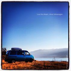 """Commercial"" Mork, our #Westfalia lakeside."
