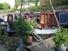 #121: Partir à la campagne (sans partir!) de Little Venice à Camden Camden Town, Mille, Outdoor Furniture, Outdoor Decor, Hammock, Home Decor, London, Things To Make, Rural Area