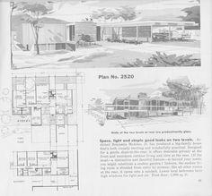 Modern Floor Plans, Modern House Plans, Small House Plans, House Floor Plans, Architecture Drawings, Architecture Plan, Contemporary Architecture, Architectural House Plans, Architectural Prints
