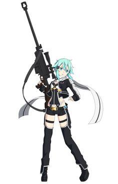 Sinon Ggo, Kirito Asuna, Shino Sao, Anime Manga, Anime Art, Asada Shino, Sword Art Online Wallpaper, Loli Kawaii, Cutest Couple Ever