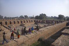 44 lugares lindos para visitar na Índia - Nalanda, Bihar- Nalanda University