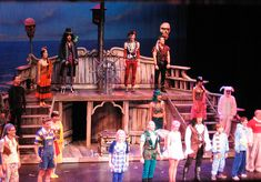 the cast of Peter Pan by Gail at Large + Image Legacy, via Flickr