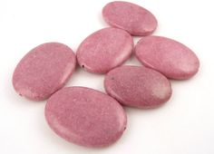 Rhodonite Stone Beads // Jewelry Supply // Pink by CastoGemstones, $8.50