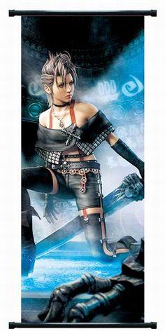 Final Fantasy X-2 Paine Wallscroll FFWS3325