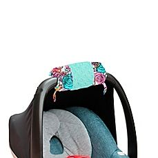 image of Itzy Ritzy® Ritzy Wrap™ Infant Car Seat Handle Arm Cushion in Watercolor Bloom