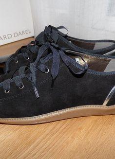 daim T41 Basket Gérard noir verni et noir DAREL cuir Daim Cuir qfxwft0