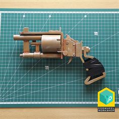 Pipe revolver with interchangeable parts Fallout Fallout Weapons, Fallout Props, Fallout Cosplay, Metro 2033, Revolver Pistol, Revolvers, Water Based Acrylic Paint, Iron Sights, Cold Steel