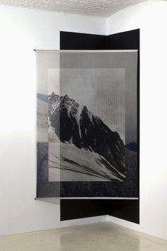 elena damiani | Fading Field Digital print on silk chiffon 2013