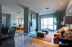 Master bedroom in the Penthouse at Panorama Towers http://www.mylvcondosales.com/panorama-towers-las-vegas/