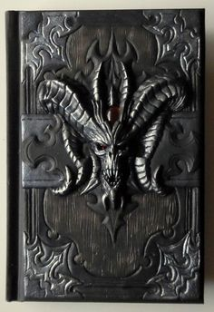 Its a unique notebook with handmade polymer clay cover - Book of Cain from Diablo 3. Notebook has 98 white sheets (Canson Art Book One). You could