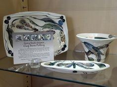Pottery by Nancy Rasch Salamon of West Chester, PA