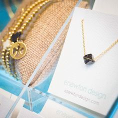 Stop in tomorrow to check out our new shipment of @enewtondesign jewelry and be sure to stay for lunch!