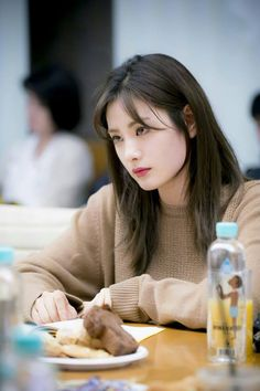 look at After School Korean Beauty Girls, Korean Girl, Asian Beauty, Asian Girl, Bangs With Medium Hair, Medium Hair Styles, Short Hair Styles, Nana Afterschool, Im Jin Ah Nana