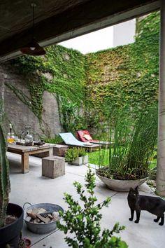 Backyard ideas, create your unique awesome backyard landscaping diy inexpensive on a budget patio - Small backyard ideas for small yards Backyard Privacy, Small Backyard Landscaping, Small Patio, Backyard Patio, Backyard Ideas, Patio Ideas, Landscaping Ideas, Garden Ideas, Diy Patio