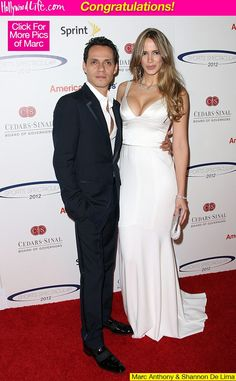 Marc Anthony and New Girlfriend Shannon De Lima Marc Anthony And Jlo, Celebrity Weddings, Celebrity Style, Dayanara Torres, Ray Donovan, Stylish Couple, New Girlfriend, White Gowns, Beautiful Couple