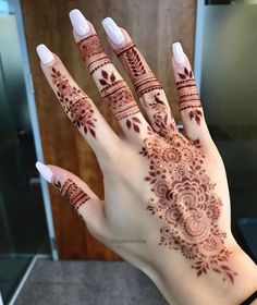 Likes, 36 Comments - Arabian Henna (حنا) ( on Instag., Likes, 36 Comments – Arabian Henna (حنا) ( on Instag…, Henna Tattoo Designs Simple, Henna Designs Easy, Mehndi Art Designs, Latest Mehndi Designs, Henna Tattoo Hand, Henna Mehndi, Mehendi, Finger Henna Designs, Mehndi Designs For Fingers