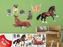 Wandsticker 771071 Kinderzimmer Tiere Bauernhof