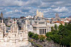 📷 @jlajaus 2017. Madrid. Desde la azotea del Ayuntamiento de Madrid