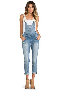 Wildfox Couture Chloe Overall in Memory