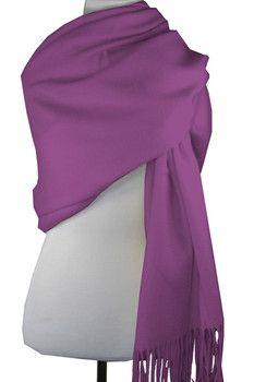 Pur Cashmere Signature Cashmere & Wool Blend Wrap