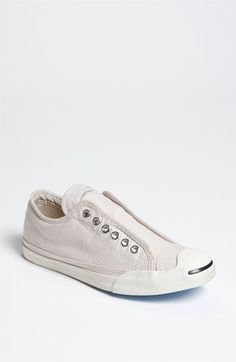89cab2f5309194 Converse  Jack Purcell LP  Slip-On Chambray Sneaker (Women)