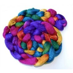 Abstract Fiber Silk Merino Paradise Fibers