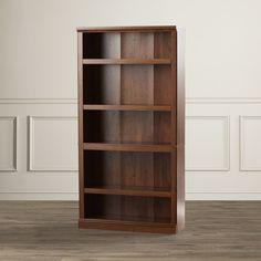 "Three Posts Abigail 70"" Standard Bookcase & Reviews | Wayfair"