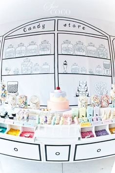 Candy Shop Birthday Party |